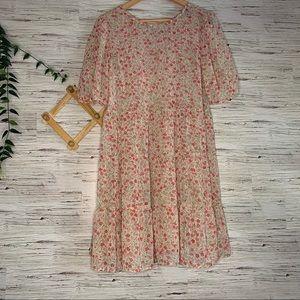 NWT Primark Chiffon Floral Dress